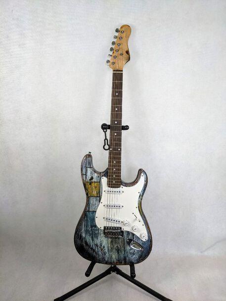 Gitara elektryczna DELSON - Homemade Relic Grunge Style, (1) - Instrumenty muzyczne