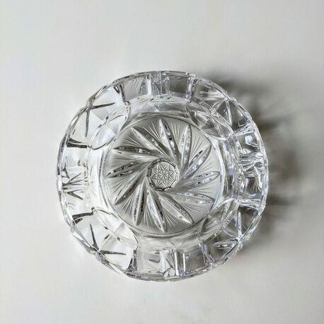 Kryształowa popielniczka - Zawiercie Classic Crystal, (1) - Szkło