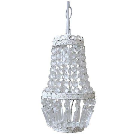 Lampa z Kryształkami Vintage Chic, (1) - Oświetlenie