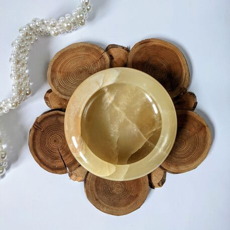 Alabastrowy pojemniczek na biżuterię, (1) - Inne