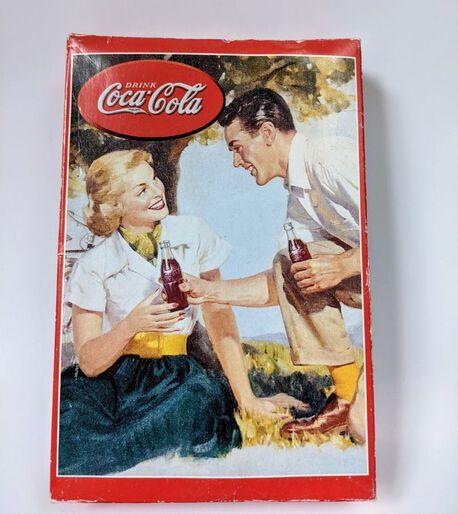 Vintage puzzle Coca-Cola z retro obrazkiem, (1) - Boże Narodzenie