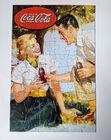 Vintage puzzle Coca-Cola z retro obrazkiem, (3) - Boże Narodzenie