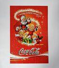 Vintage puzzle Coca-Cola z retro obrazkiem, (8) - Boże Narodzenie
