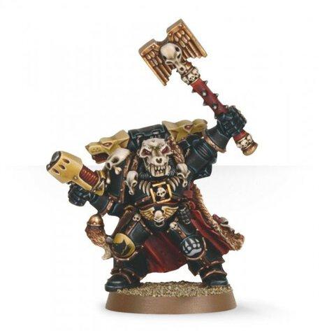 Warhammer 40K Ulrik the Slayer Iron Priest Metal NIB OOP, (1) - Gry