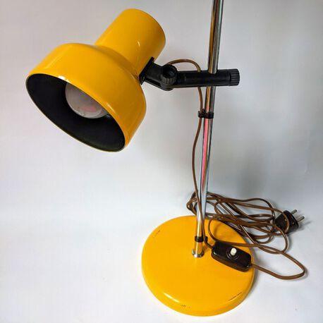 Szwedzka lampka biurkowa firmy Belid, (1) - Oświetlenie