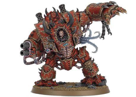 Chaos Space Marine Mortis Metalikus Hellbrute Crimson Slaughter Dark Vengeance 2012 OOP, (1) - Gry