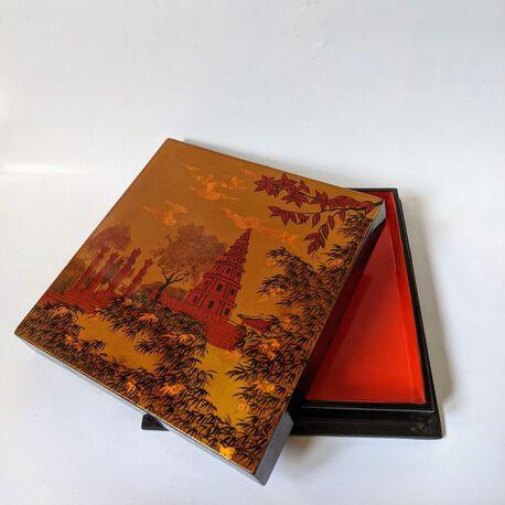 Pudełko z laki, Wietnam lata XX w. , (1) - Inne