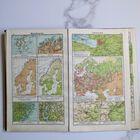 Niemiecki Atlas szkolny - Diercke Schul-Atlas, 1928 r. , (5) - Książki