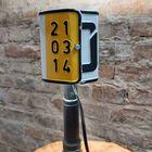 Lampa z rejestracji samochodowej - rękodzieło, (4) - Oświetlenie