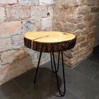 Stolik kawowy na trzech zaokrąglonych nogach, (3) - Meble