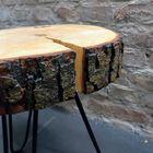 Stolik kawowy na trzech zaokrąglonych nogach, (4) - Meble