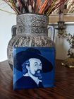Płytka ceramiczna Vintage Delft Sir Peter Paul Rubens niebiesko-biała , (1) - Sklep