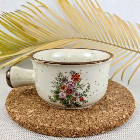 Kubek do zupy firmy BOLTZE BAZAR lata 70 XX , (1) - Ceramika