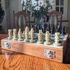 Komplet szachowy ręcznie wykonany z kamienia, (5) - Inne
