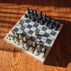 Komplet szachowy ręcznie wykonany z kamienia, (6) - Inne