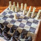 Komplet szachowy ręcznie wykonany z kamienia, (4) - Inne