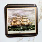 PIMPERNEL Clipper Ships England Zestaw 6 podstawek, (6) - Inne