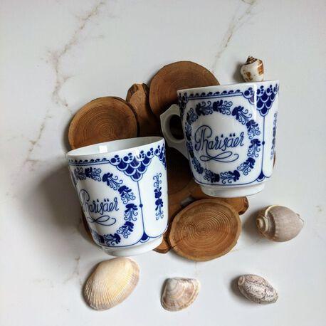 HUTSCHENREUTHER PHARISÄER dwie filiżanki, (1) - Ceramika