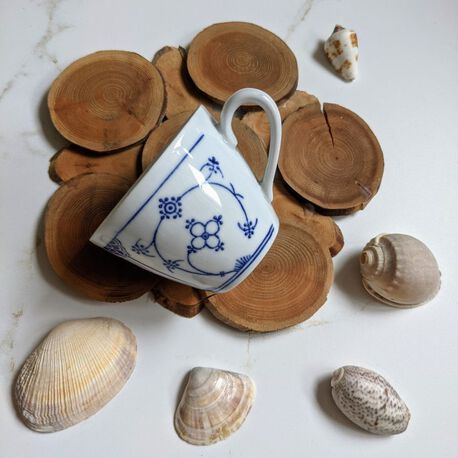 Filiżanka z NRD Blau Saks, (1) - Ceramika