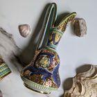 Dekoracyjne naczynia zdobione złotem i mozaiką bizantyjską - G.P. Deruta, (3) - Ceramika