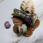 Dekoracyjne naczynia zdobione złotem i mozaiką bizantyjską - G.P. Deruta, (14) - Ceramika