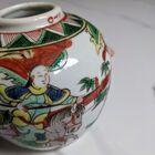 Chiński XIX-wieczny słoik Famille Verte , (4) - Ceramika