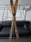 Wyjątkowa lampa ze starych nart - rękodzieło , (2) - Rękodzieło