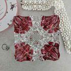 Kryształowa popielniczka barwiona na różowo, (2) - Trafika