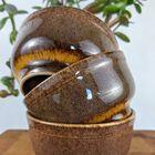 3 miseczki ceramiczne Mirostowice, (5) - Ceramika