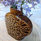 Mały wazonik Mirostowice lata 70 XX w., (4) - Ceramika
