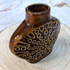 Mały wazonik Mirostowice lata 70 XX w., (5) - Ceramika