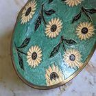 Ręcznie robiona patera z mosiądzu vintage, (6) - Inne