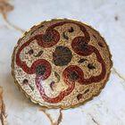 Ręcznie robiona patera z mosiądzu Indie II poł. XX w., (3) - Inne