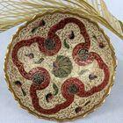 Ręcznie robiona patera z mosiądzu Indie II poł. XX w., (2) - Inne
