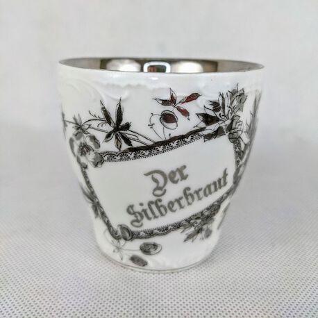Der Silberbraut - filiżanka XIX w. , (1) - Ceramika