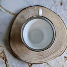 Der Silberbraut - filiżanka XIX w. , (6) - Ceramika