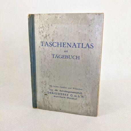Niemiecki Atlas kieszonkowy z 1940 r. , (1) - Książki