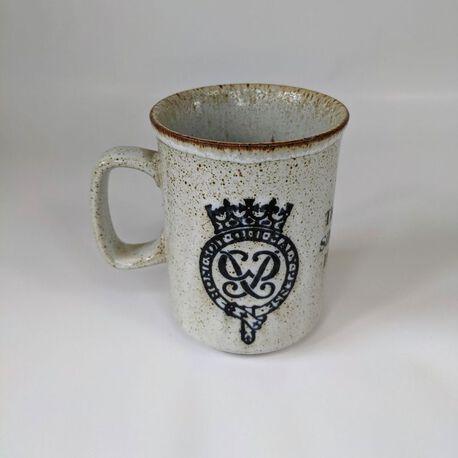 Ceramics Scotland Kubek do kawy The Queen's Silver Jubilee E II R , (1) - Ceramika