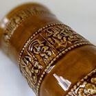 Kufel do piwa z cynową pokrywką, Niemcy - Zinn R Bleifrei, (8) - Ceramika